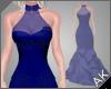 ~AK~ Elegant Gown: Navy