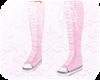 Pastel Pink Hightops W F