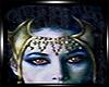 Vampiress Crown Mask