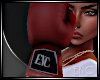 ENC BOXING GLOVES RED