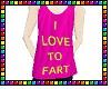 {Fart Lover Tank Top}