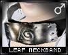 !T Leaf neckband [M]