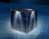 Mystic Blue Cube Seat