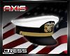 AX - USN Dress Cap
