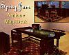Antique Map  Desk