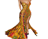 India Fabric Gown