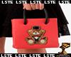 Moschino Red Bag