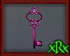 Fancy Key Decor Pink