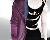 [NR]Layerable Coat purpl