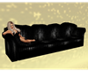 Black poses couch