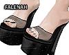 🖤 Eros Black  Heels