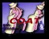 (D) LONG WHITE COAT