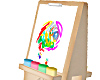 Kids Paint Easel Animate