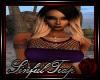 *ST* Purple Net Top...