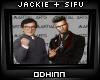 Jackie and Sifu Cameo