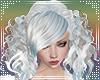 Curly sue Hair Blue Tint