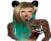 Xaicia Blonde Teal