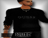 *NUFF*GUESS sweater*Blk*