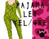 Pajama Leo Yellow Green