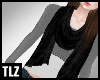 [TLZ]Black Looped Scarf