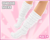 *MT* Warmie Socks White