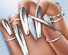 Nova Silver Nails