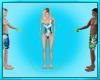 Three Person Rope Jump