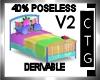 CTG 40% BED /NO POSE V2