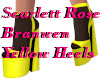 SRB Yellow Heels