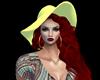AYA RED HAIR YELLOW HAT