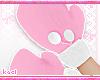 kid pink gloves