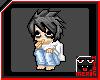 Death Note- L pixel