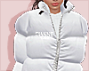 puffy coat snow