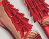 I│Ruffle Add-On Red