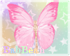 B| Nose Butterfly Pink