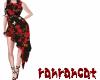☆dress red rose