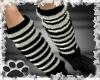 ~B/w leg warmers~