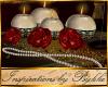 I~Rouge Roses Candle Set