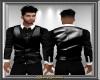 Black Vest w Shirt V1