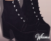 Hunzy Black Boots