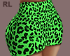 S. Neon Green Skirt RL