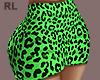S. Neon Green Skirt RL