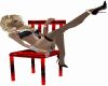 Hot Pinup Pose chair
