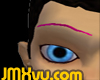 !JMXvu! Pink Eyebrows