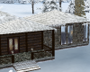Log Cabin Winter