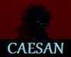 spiky punky black dragon