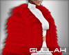 G. Tee Red Fur Coat