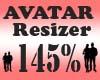 Avatar Scaler 145% / F