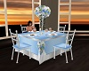 Sky Blue Wedding Table