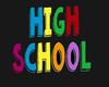 School High School Sign